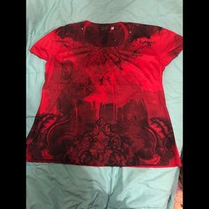 Cato Red graphic T-shirt